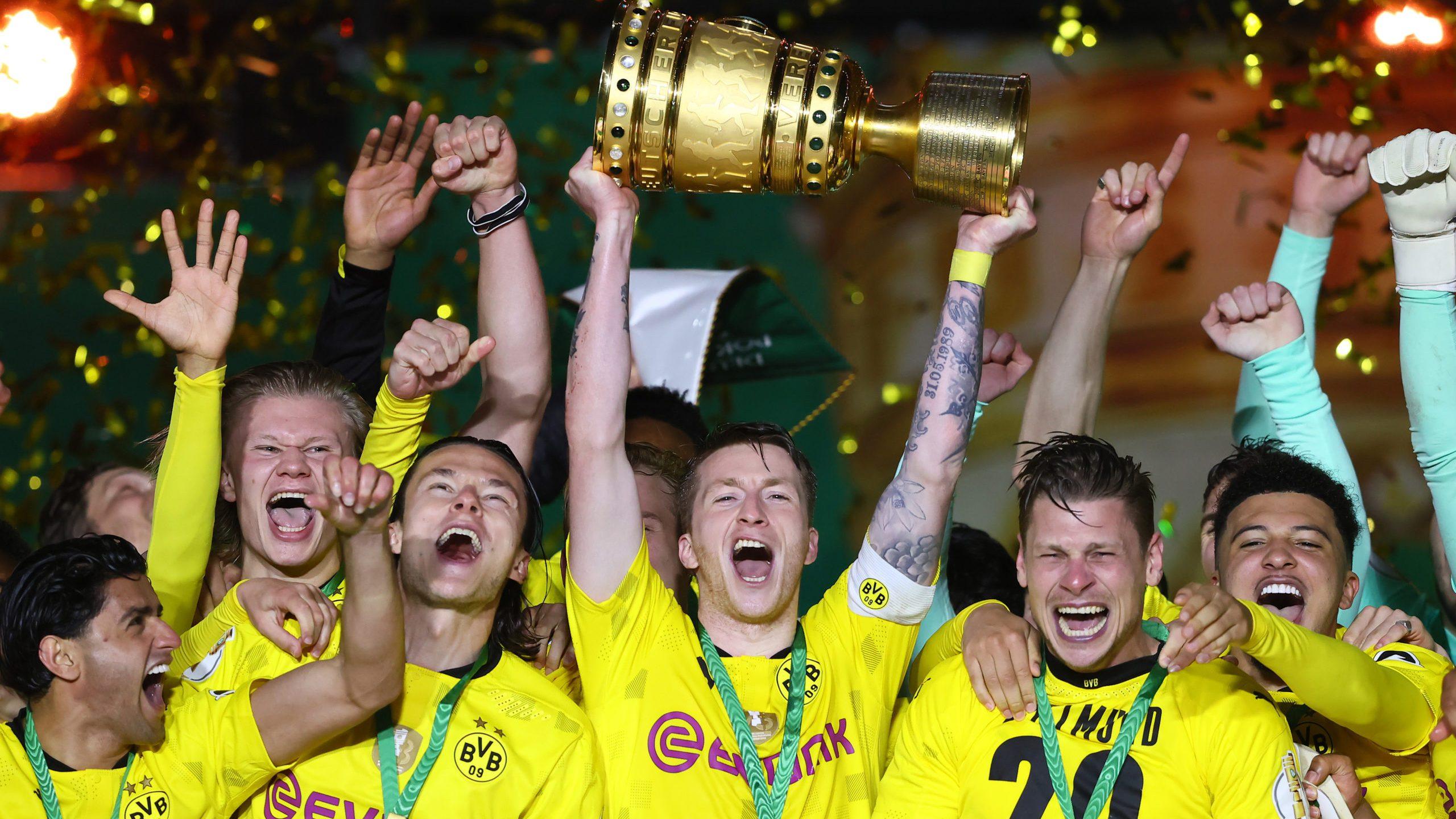 """BVB feiert Pokalsieg: """"Das waren Emotionen pur"""""""