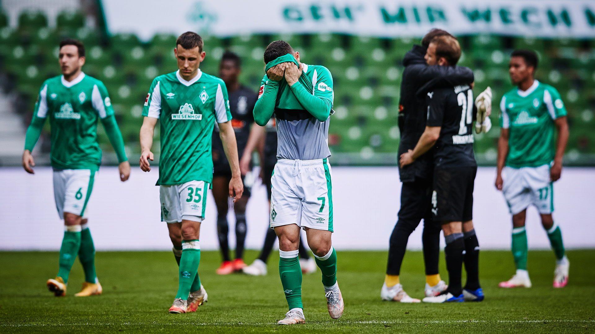 El Werder Bremen desciende; Colonia jugará el playoff para mantener la categoría