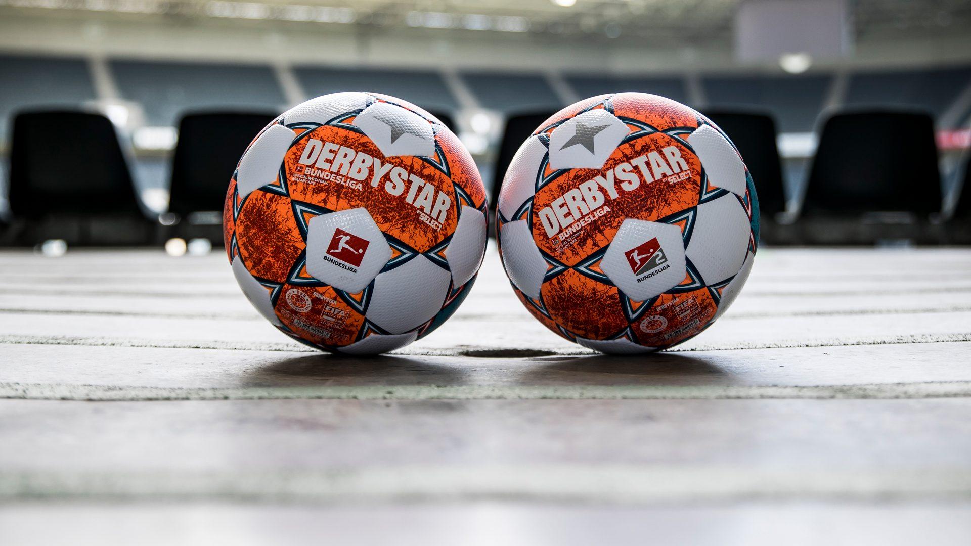 A Bundesliga hivatalos meccslabdája.