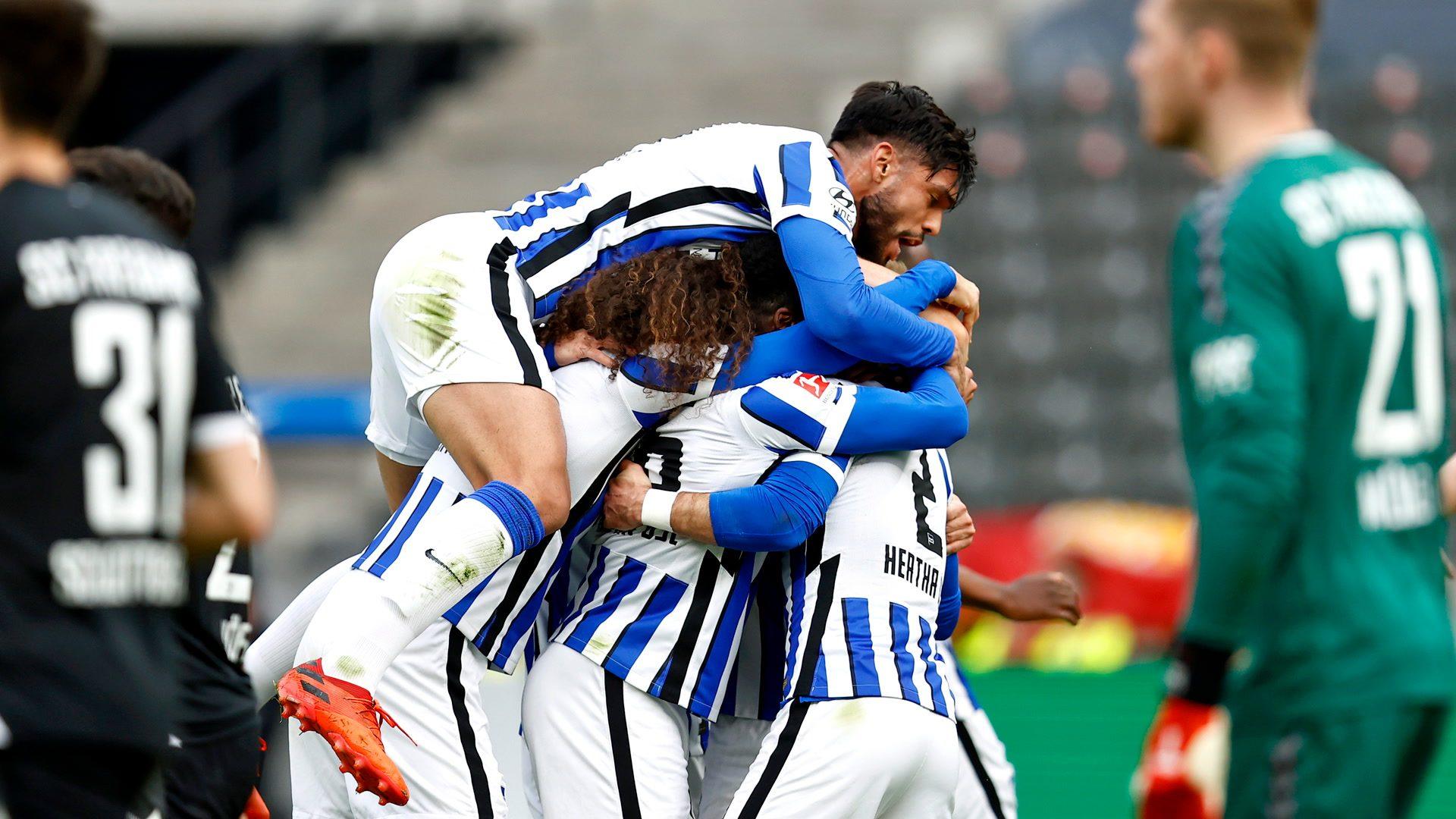 Hertha beat Freiburg to leave drop zone
