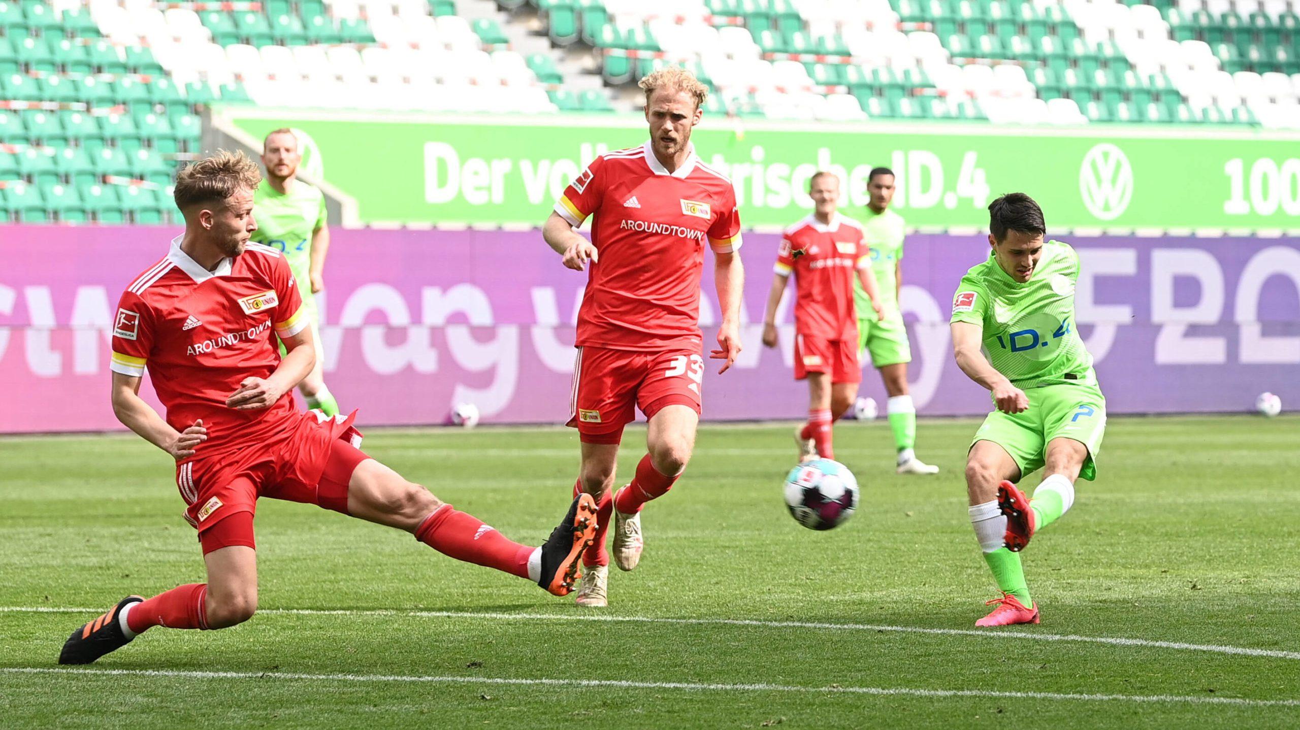 Wolfsburg gewinnt 3:0 gegen Union Berlin
