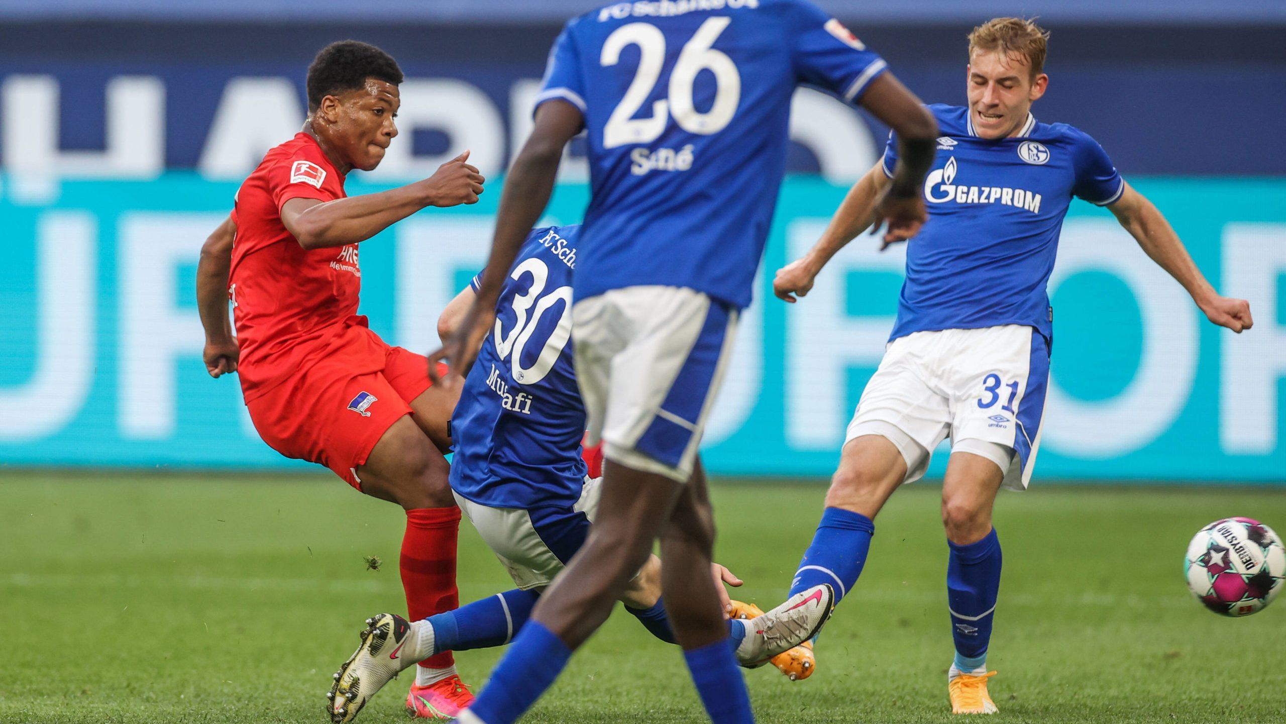 Hertha verschafft sich mit Sieg auf Schalke Luft