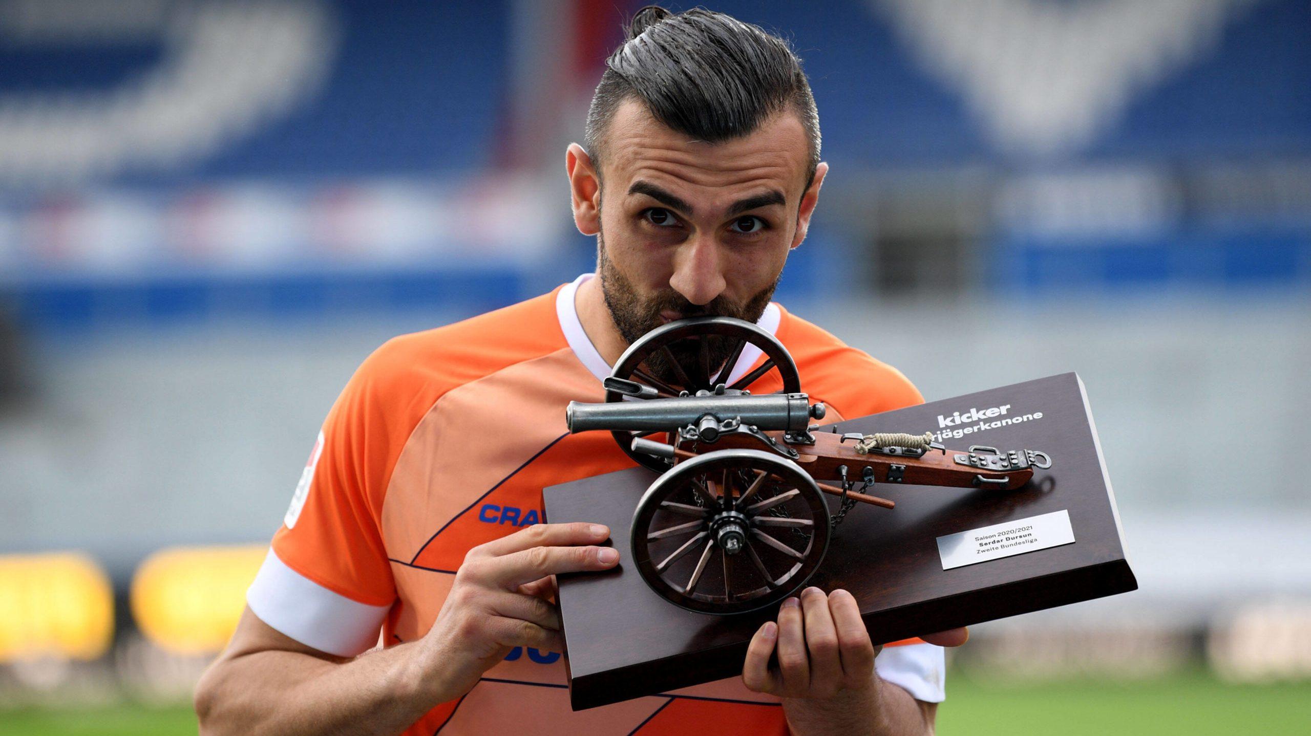 Dursun wird Torschützenkönig der 2. Bundesliga
