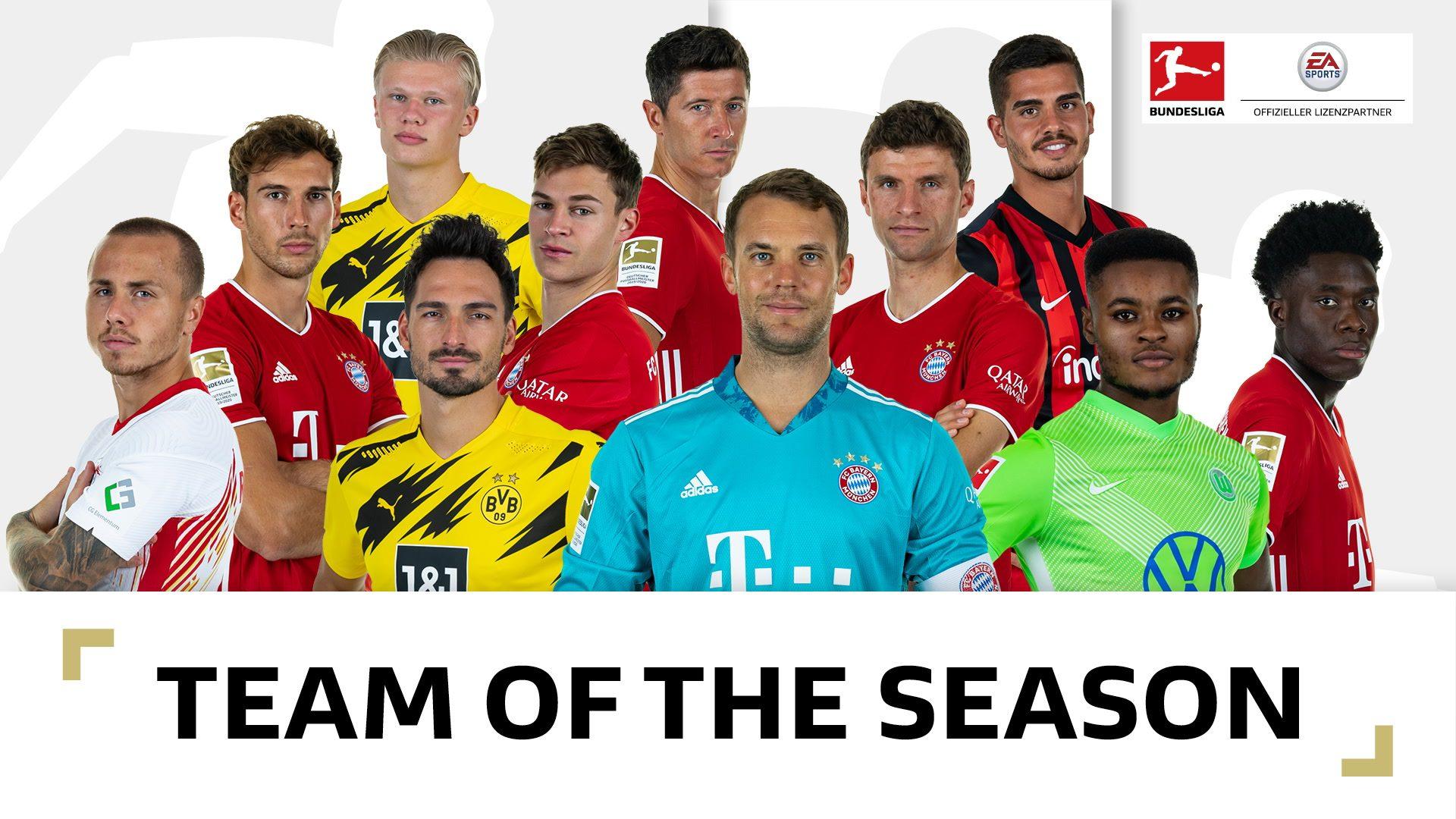"""Ihr habt gewählt: Das """"Team of the Season"""" ist da!"""