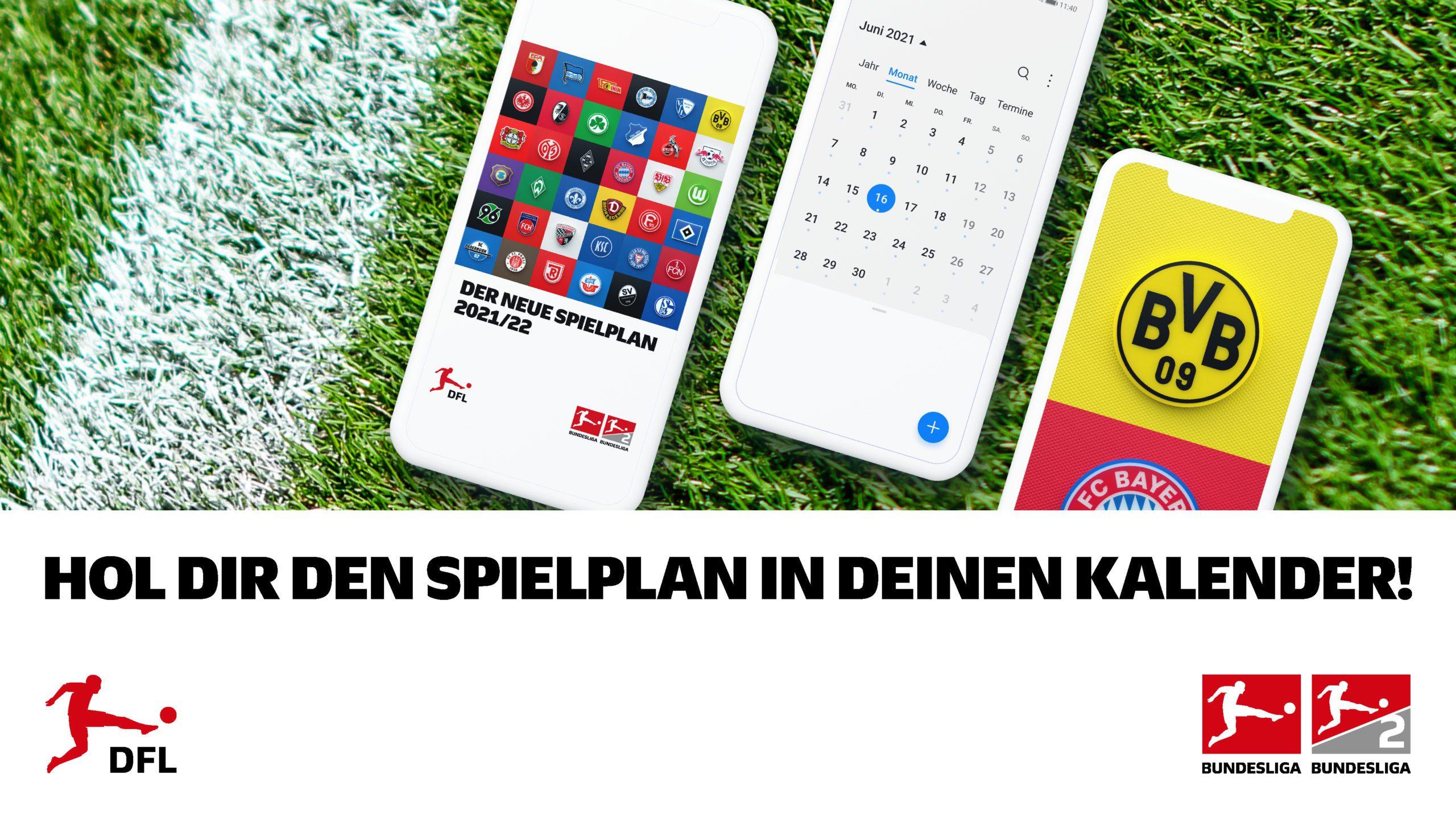 Hol dir den Spielplan auf dein Smartphone!