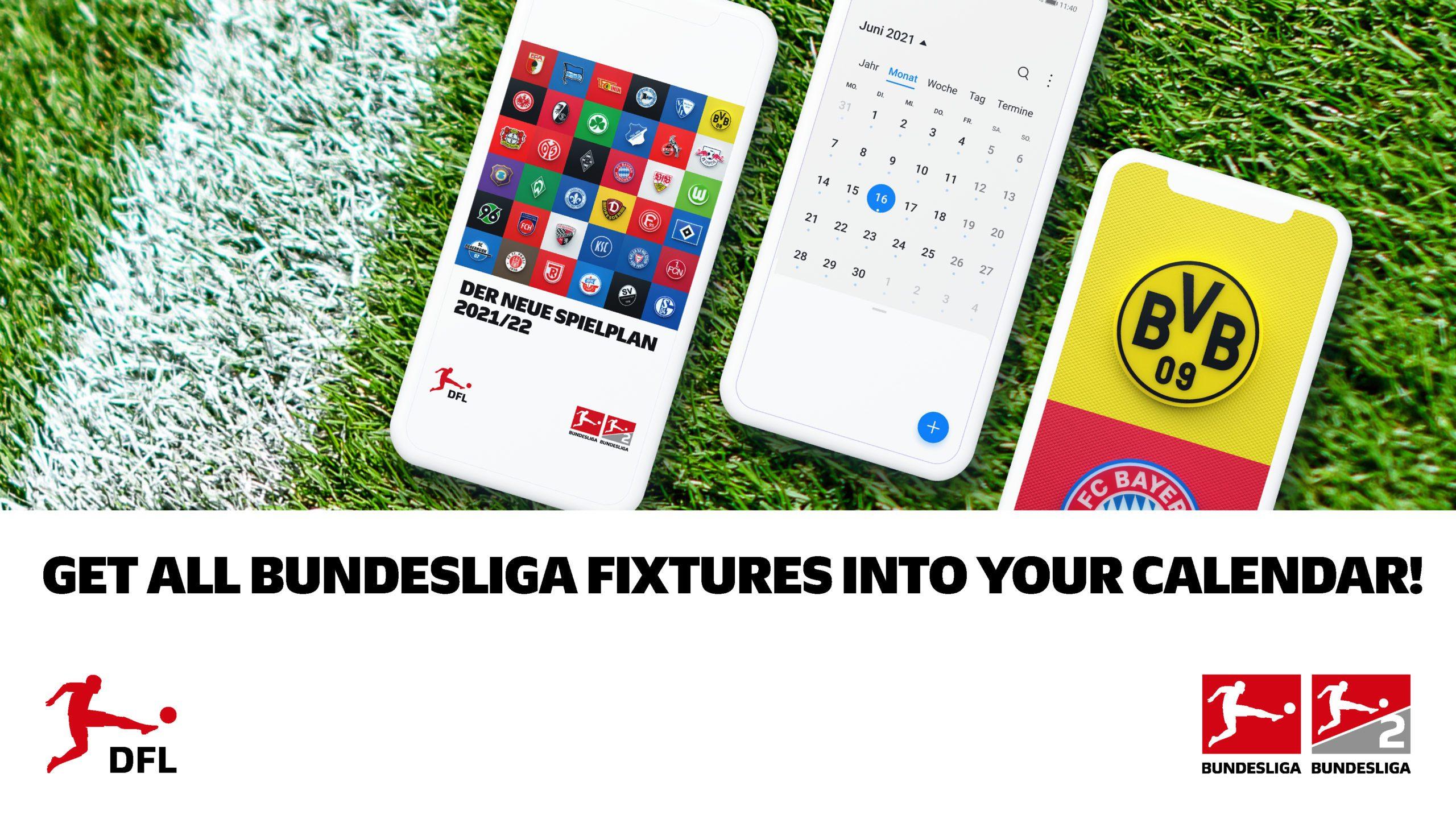 Download the 2021/22 Bundesliga fixtures