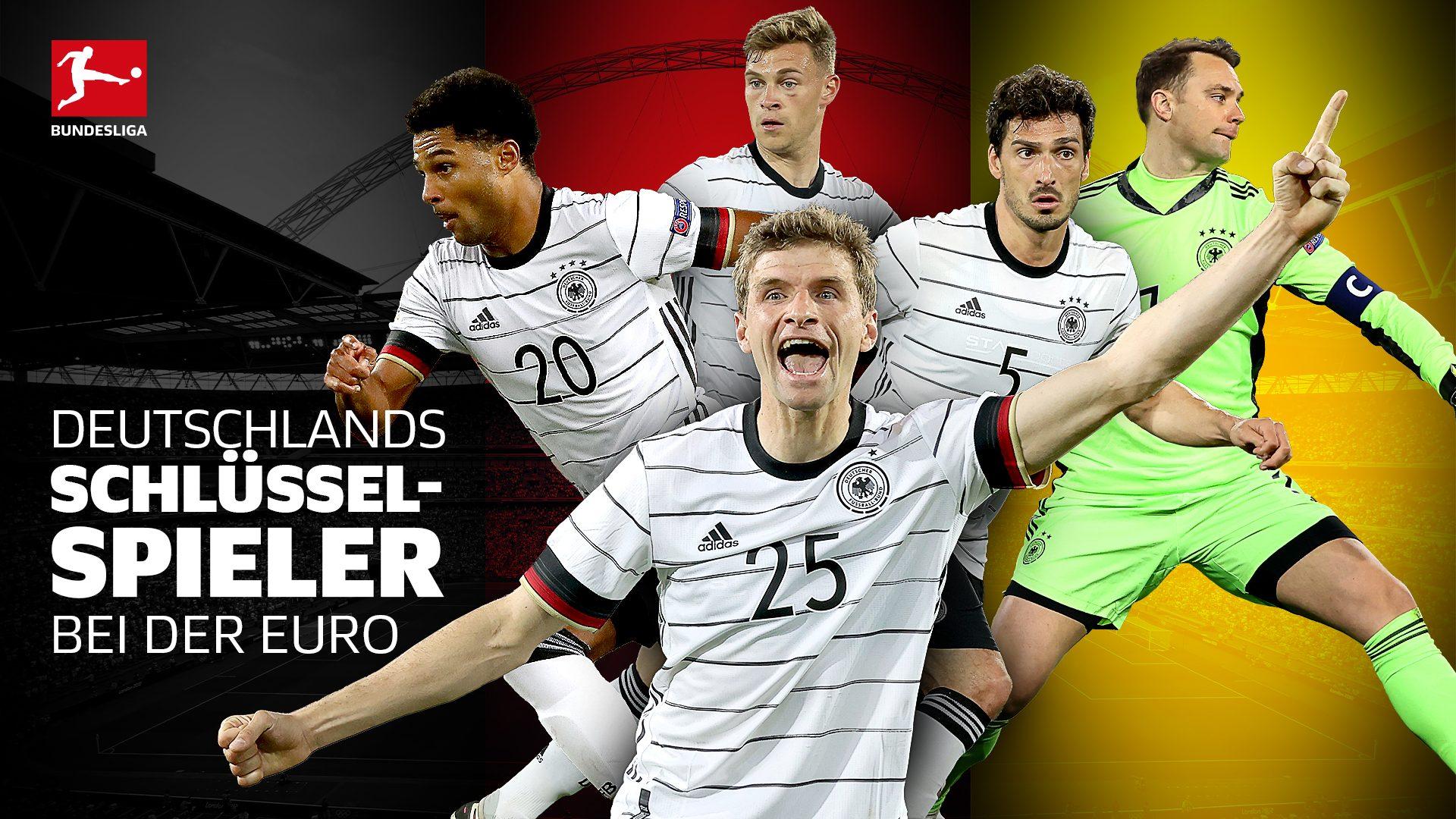 Das sind die deutschen Schlüsselspieler bei der EM