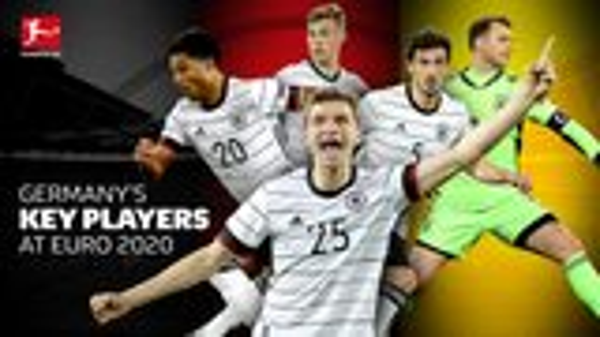 5 players key to Germany's UEFA Euro 2020 bid