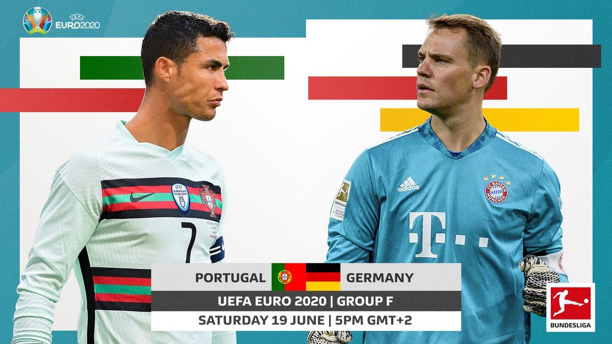 Bundesliga | Portugal vs. Germany: UEFA Euro 2020 probable line-ups, match stats and LIVE blog!