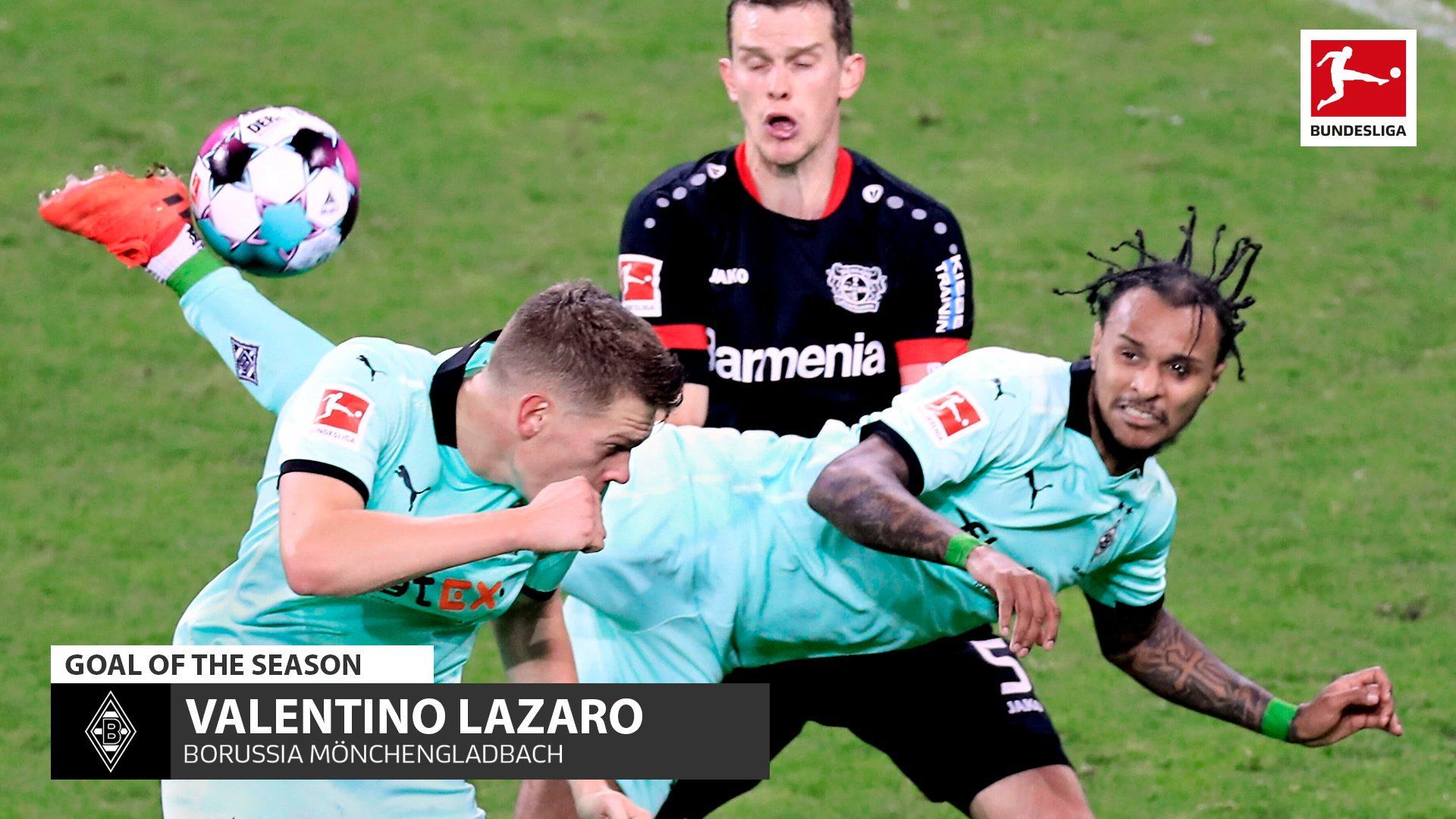 Lazaro's scorpion kick voted Goal of the Season!