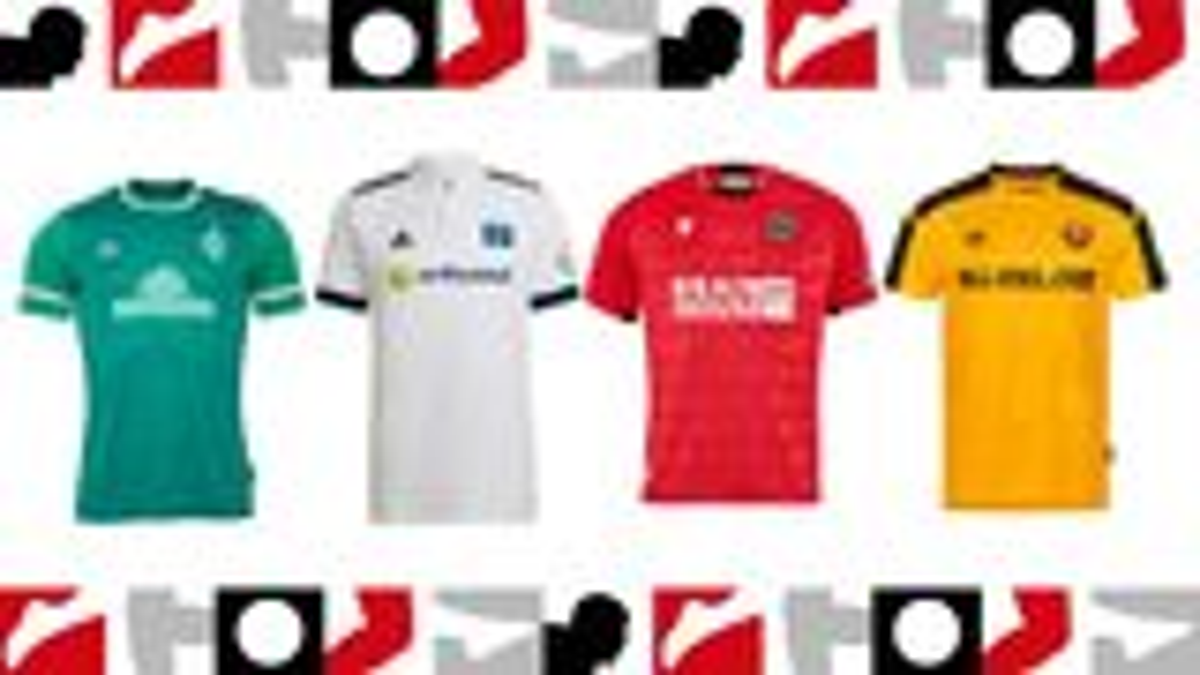 2. Bundesliga: Die neuen Trikots der Saison 2021/22