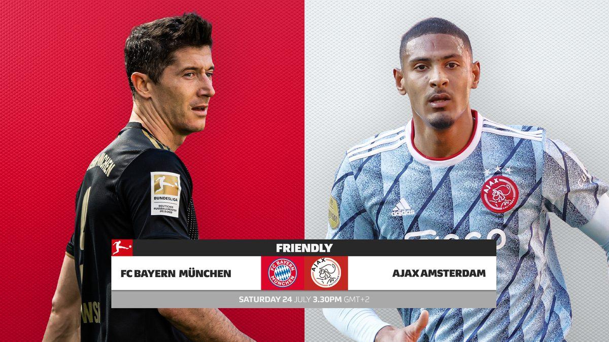 Bayern Munich vs Ajax Full Match & Highlights 24 July 2021