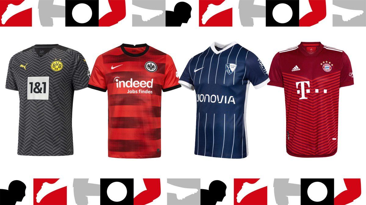 Bundesliga: Die neuen Trikots der Saison 2021/22