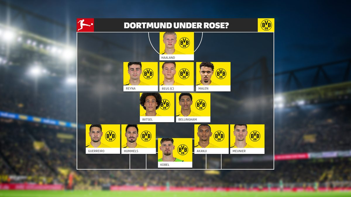 Bundesliga How Will Borussia Dortmund Line Up Post Jadon Sancho