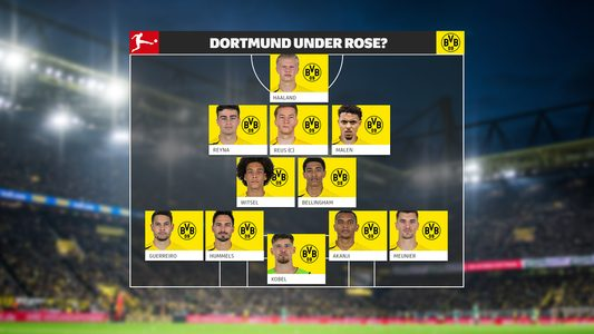 How will Borussia Dortmund line up post-Jadon Sancho?