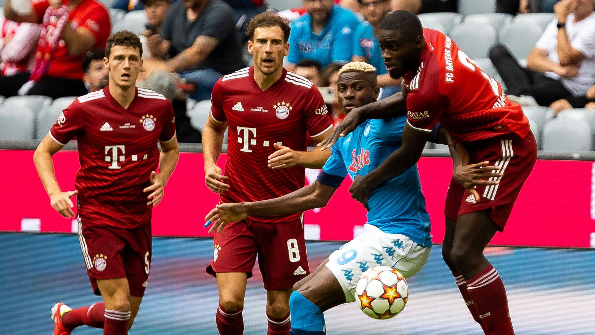 Bundesliga Bayern Munich 0 3 Napoli As It Happened