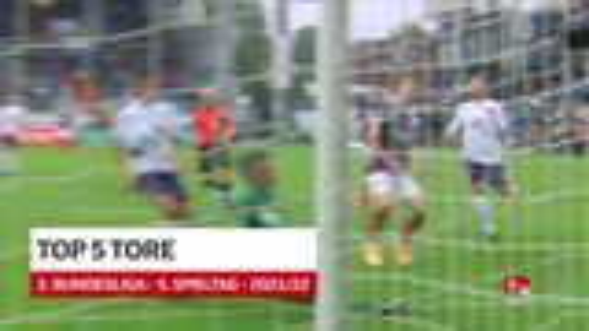 2. Bundesliga: Fünf Top-Tore des 5. Spieltags