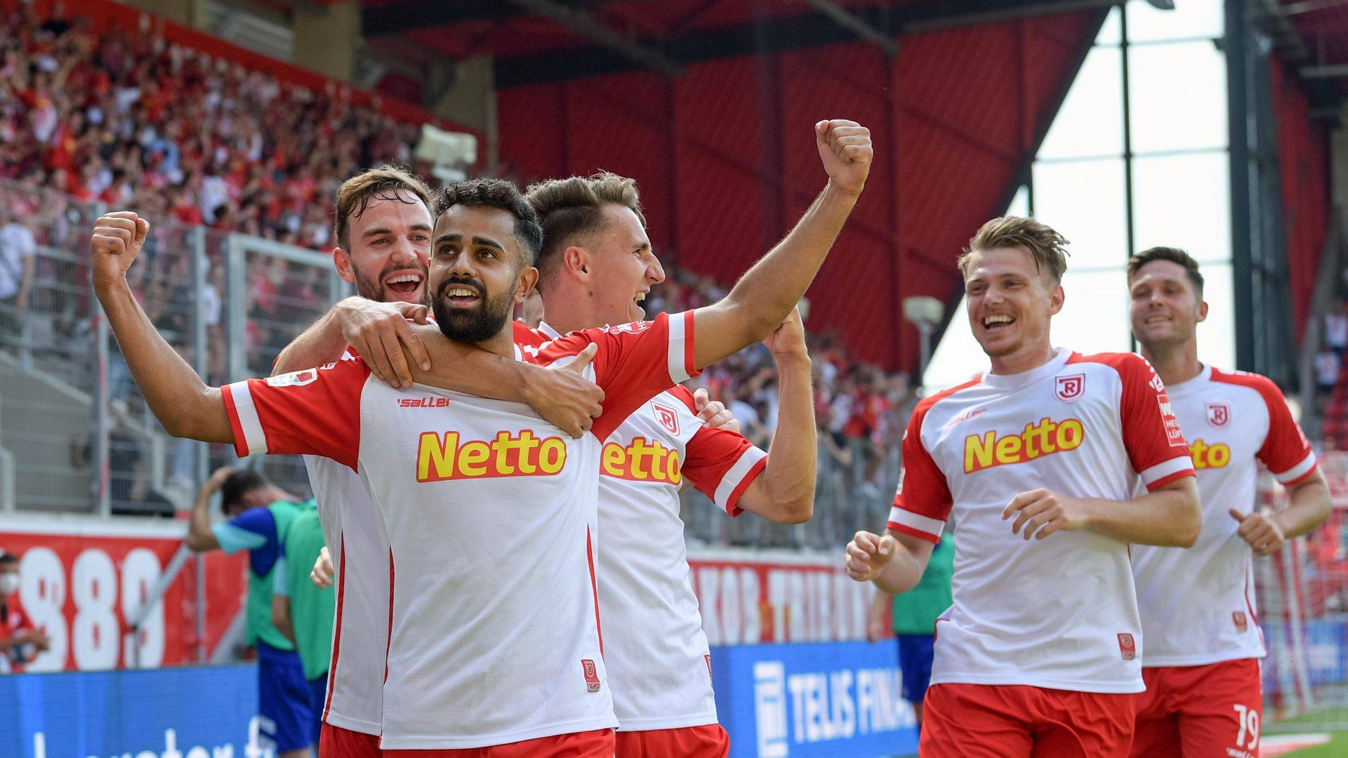 Singh when you're winning: Sarpreet leading Jahn Regensburg's charge | 2. Bundesliga