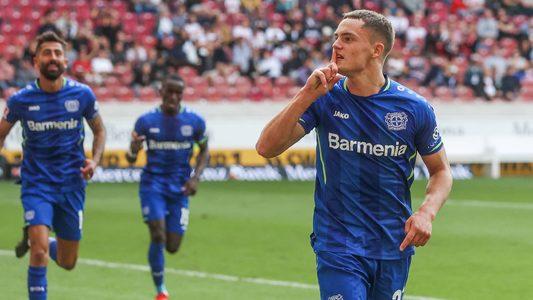 Florian Wirtz inspires ten-man Bayer Leverkusen to victory at VfB Stuttgart