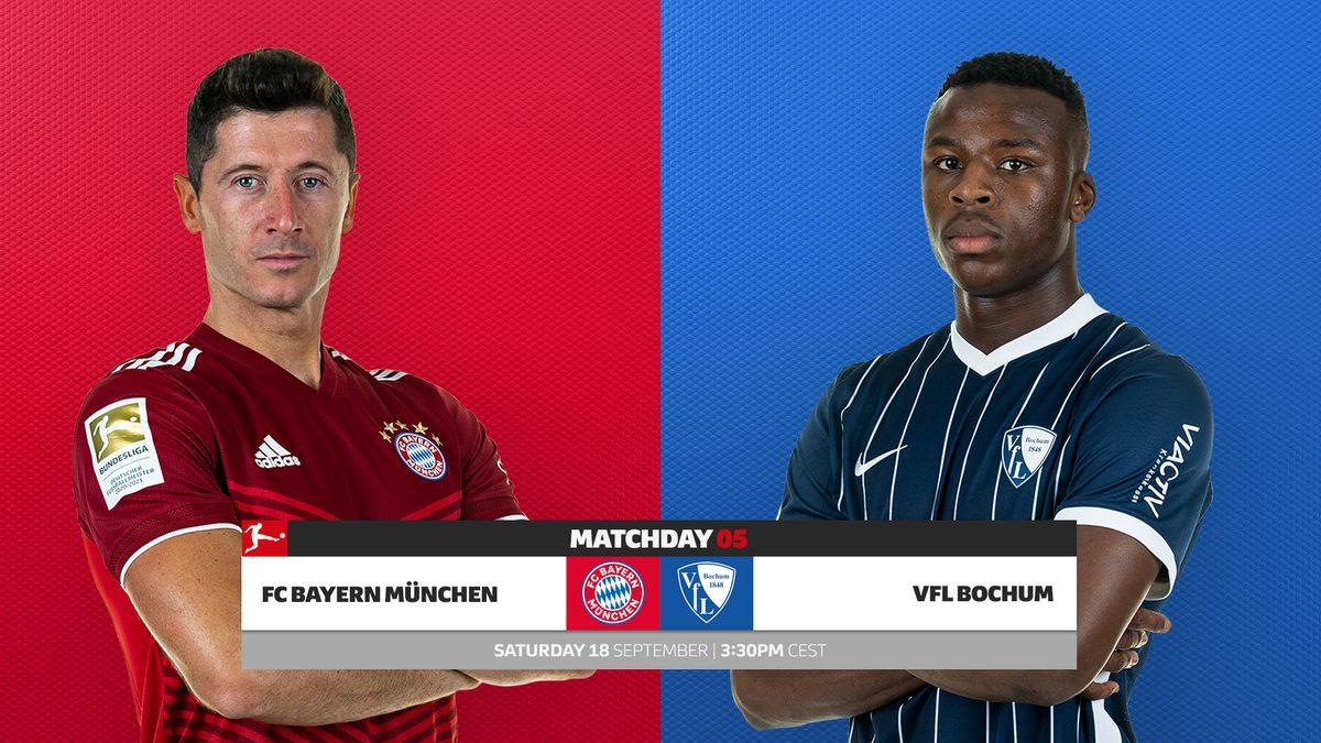 Bayern Munich vs Bochum Full Match & Highlights 18 September 2021