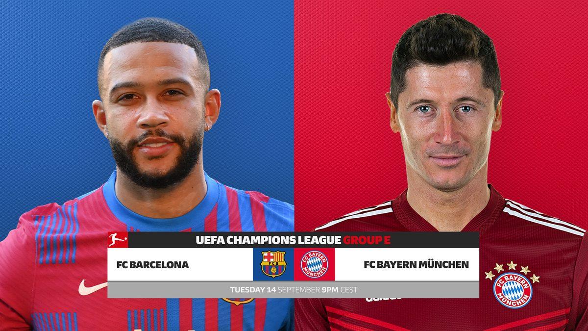 Barcelona vs. Bayern Munich: UEFA Champions League probable line-ups, match  stats and LIVE blog! | Bundesliga
