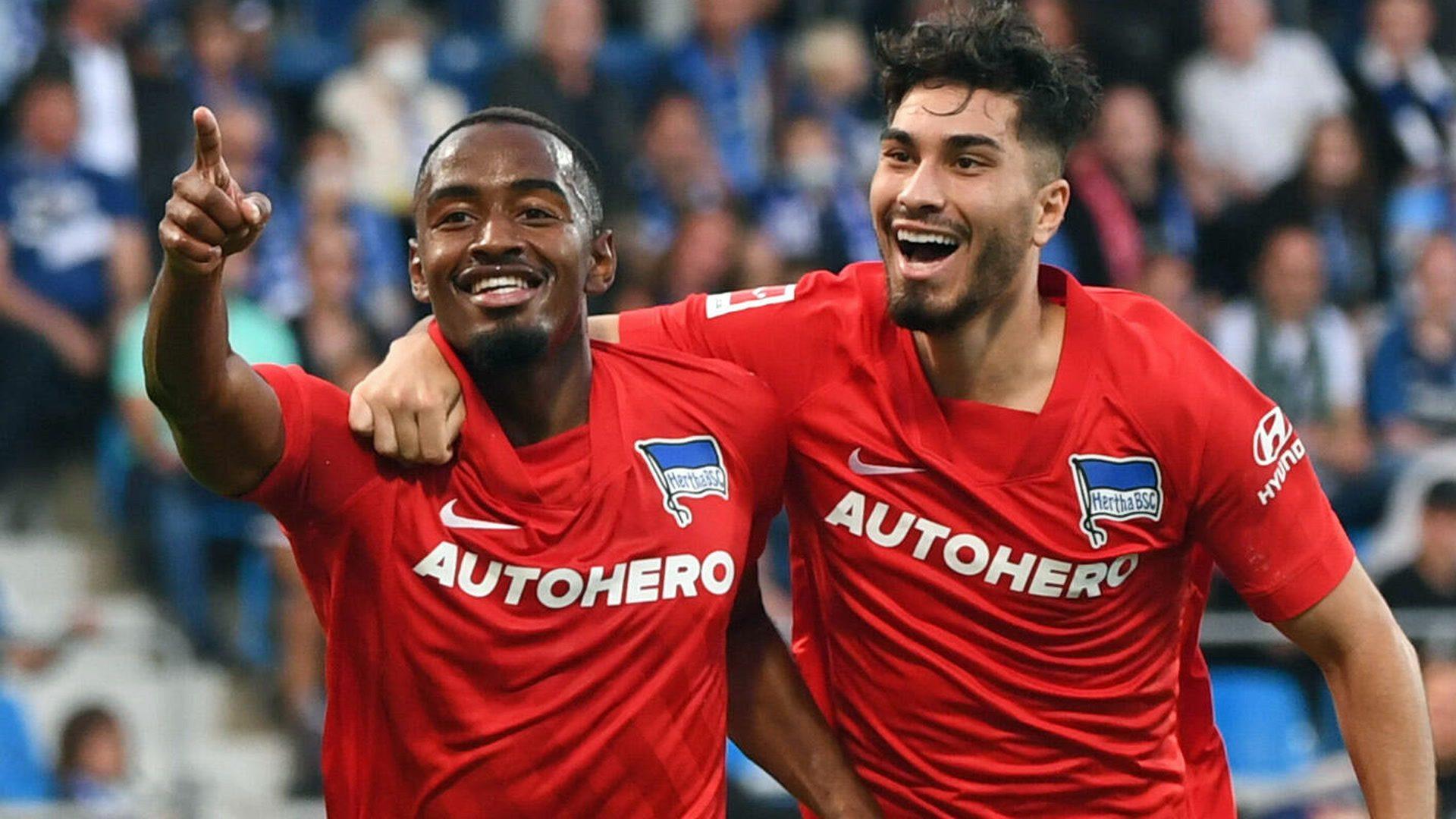Suat Serdar and Myziane Maolida get Hertha off the mark