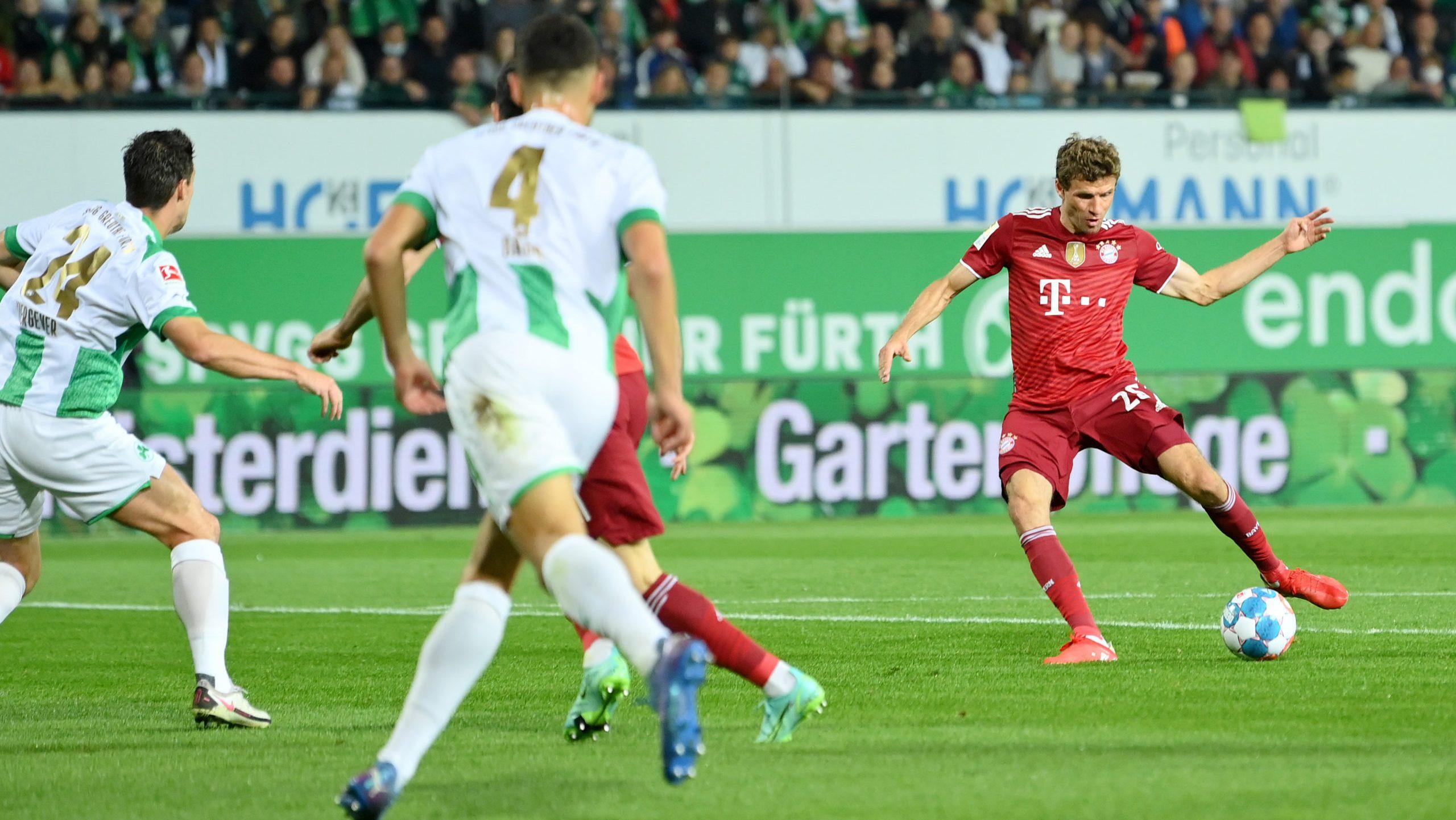Dezimierte Bayern feiern 3:1-Arbeitssieg in Fürth
