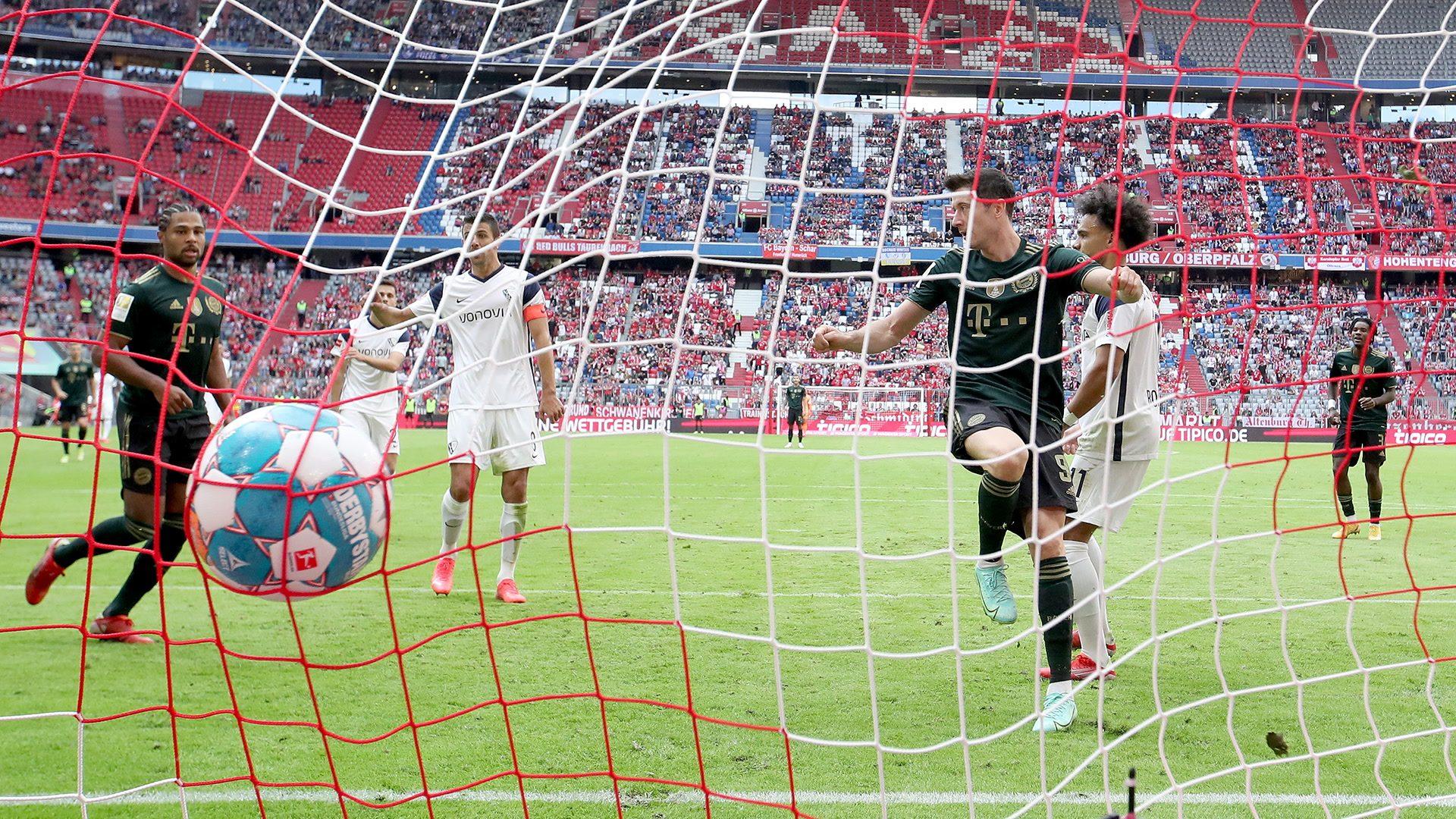 7:0! Bayern-Torfestival und Lewandowski-Rekord