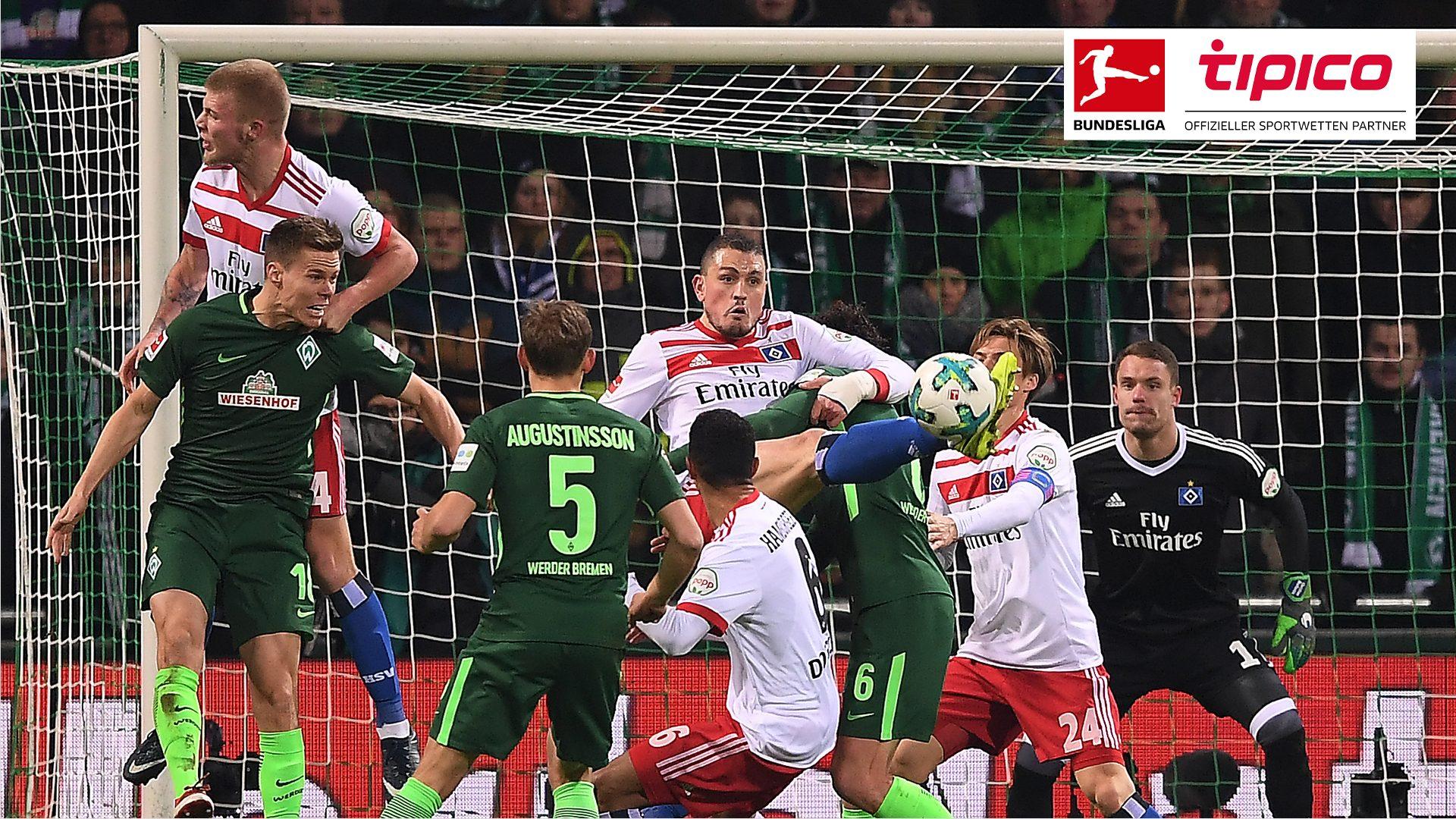 Tipico Blog: Zahlen und Fakten zu Werder gegen HSV