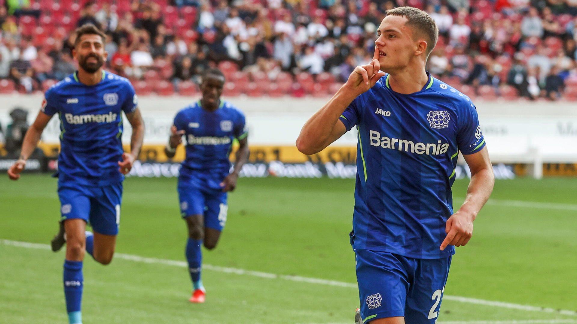 Wirtz inspires Leverkusen to win in Stuttgart