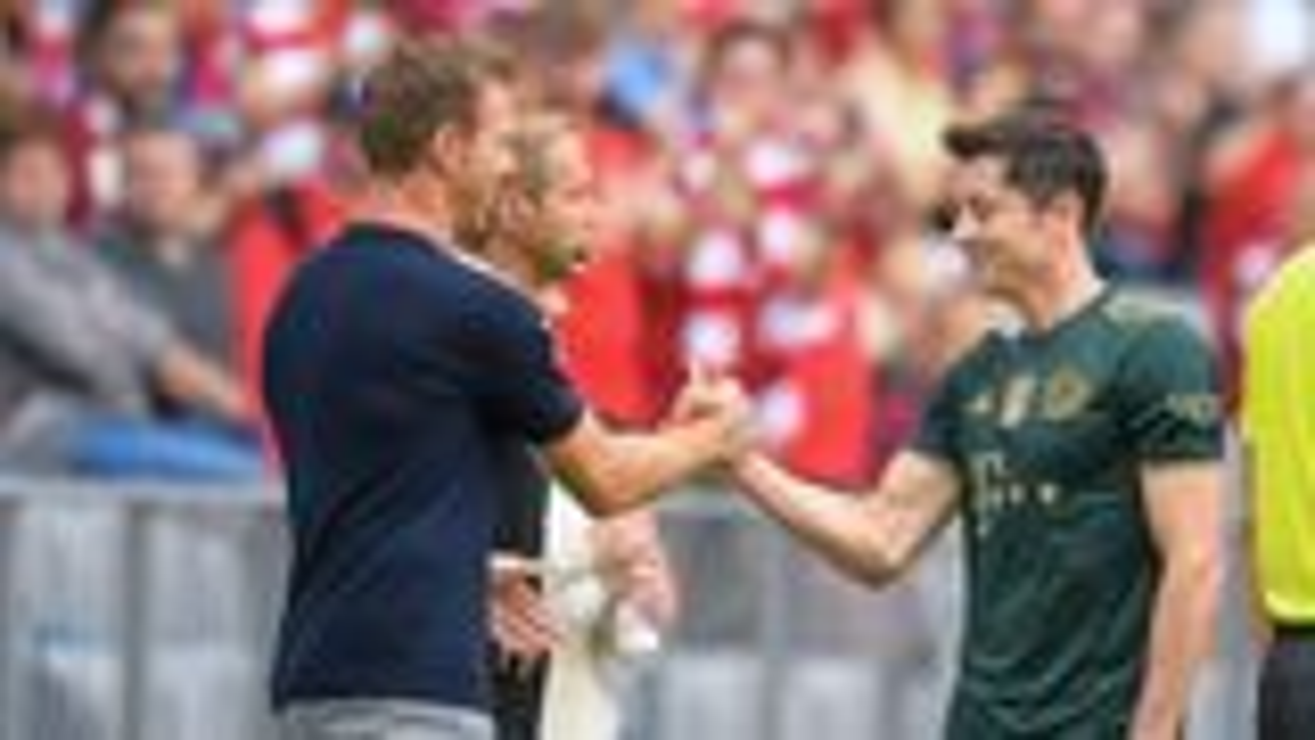 """Lewandowski the world's best forward"" - Nagelsmann"