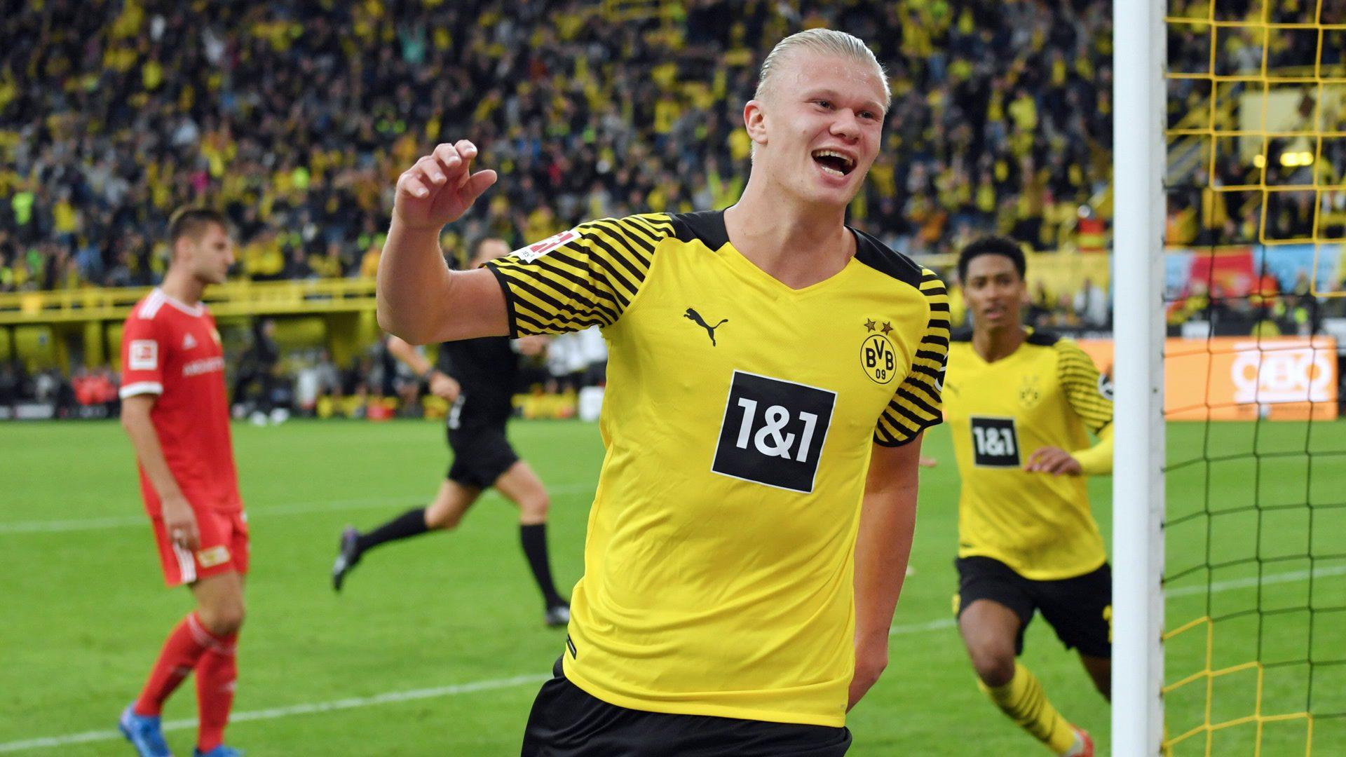 Haaland strikes again as Dortmund down Union