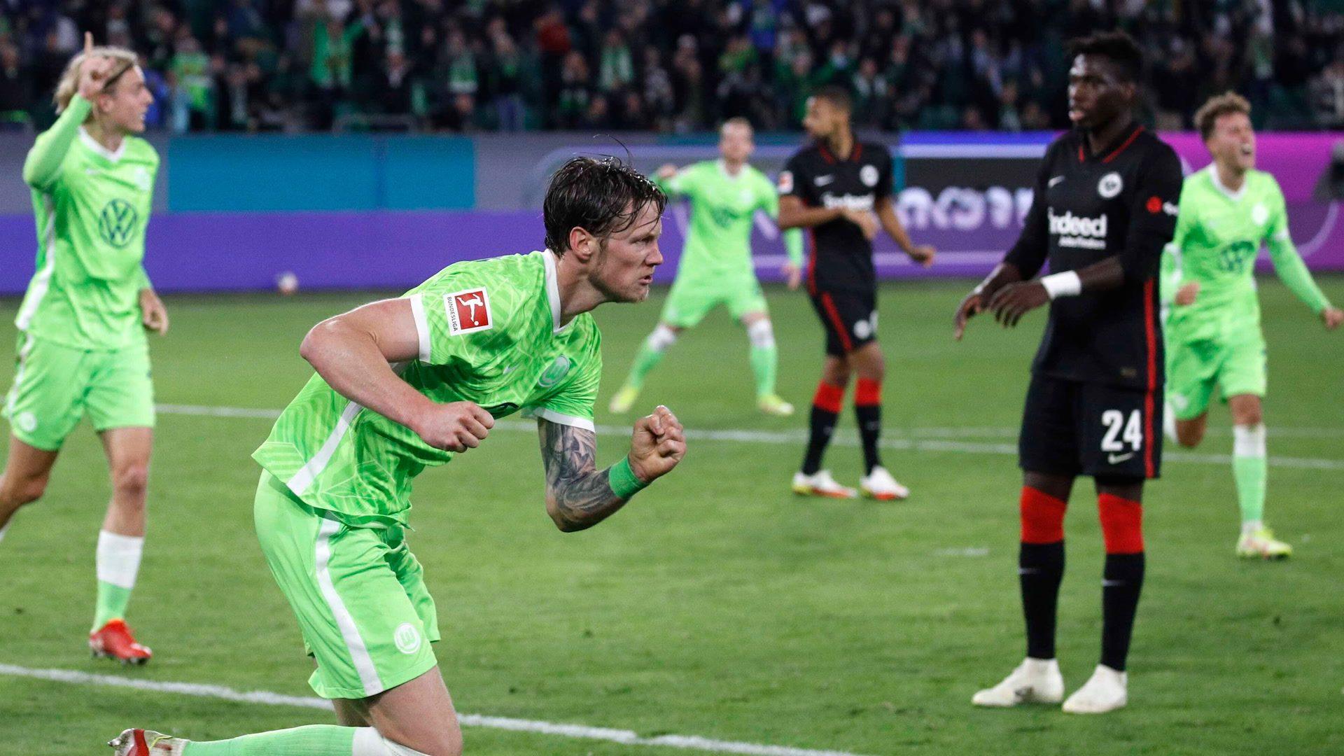 Wolfsburg held at home by Frankfurt