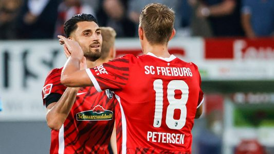 Vincenzo Grifo on target as Freiburg cruise past Augsburg