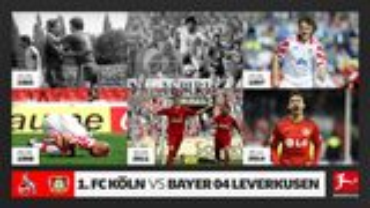 Die Top-Duelle zwischen Köln und Leverkusen