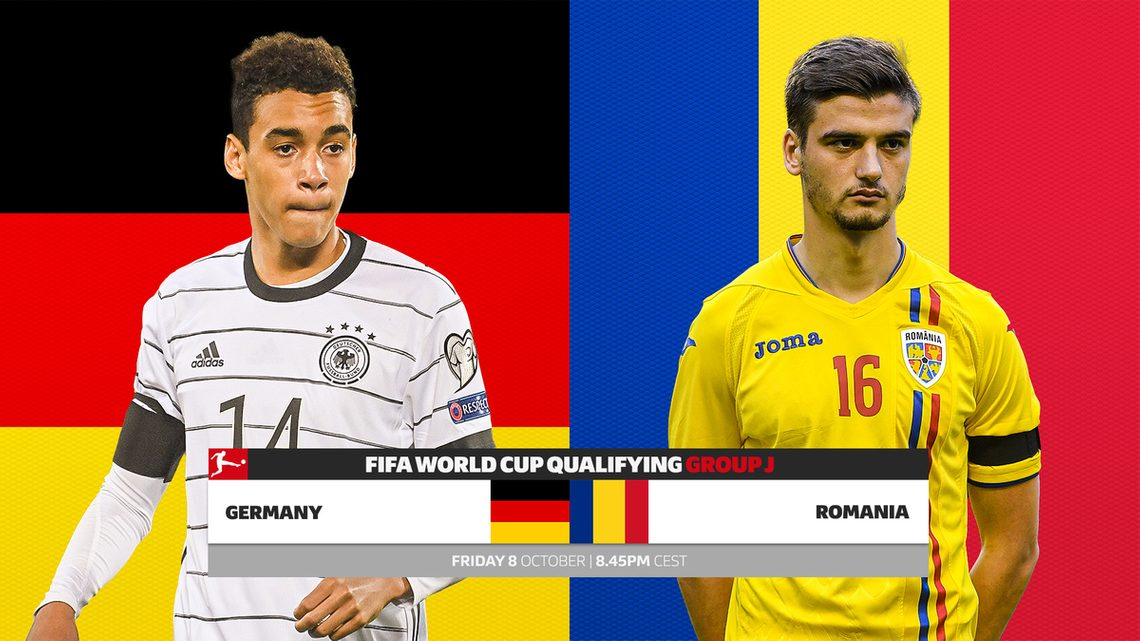 Germany vs Romania LIVE on FIFA World Cup Qualifiers live stream: Germany looking to stay on top of Group J as they face Romania, GER vs ROM live, follow live updates