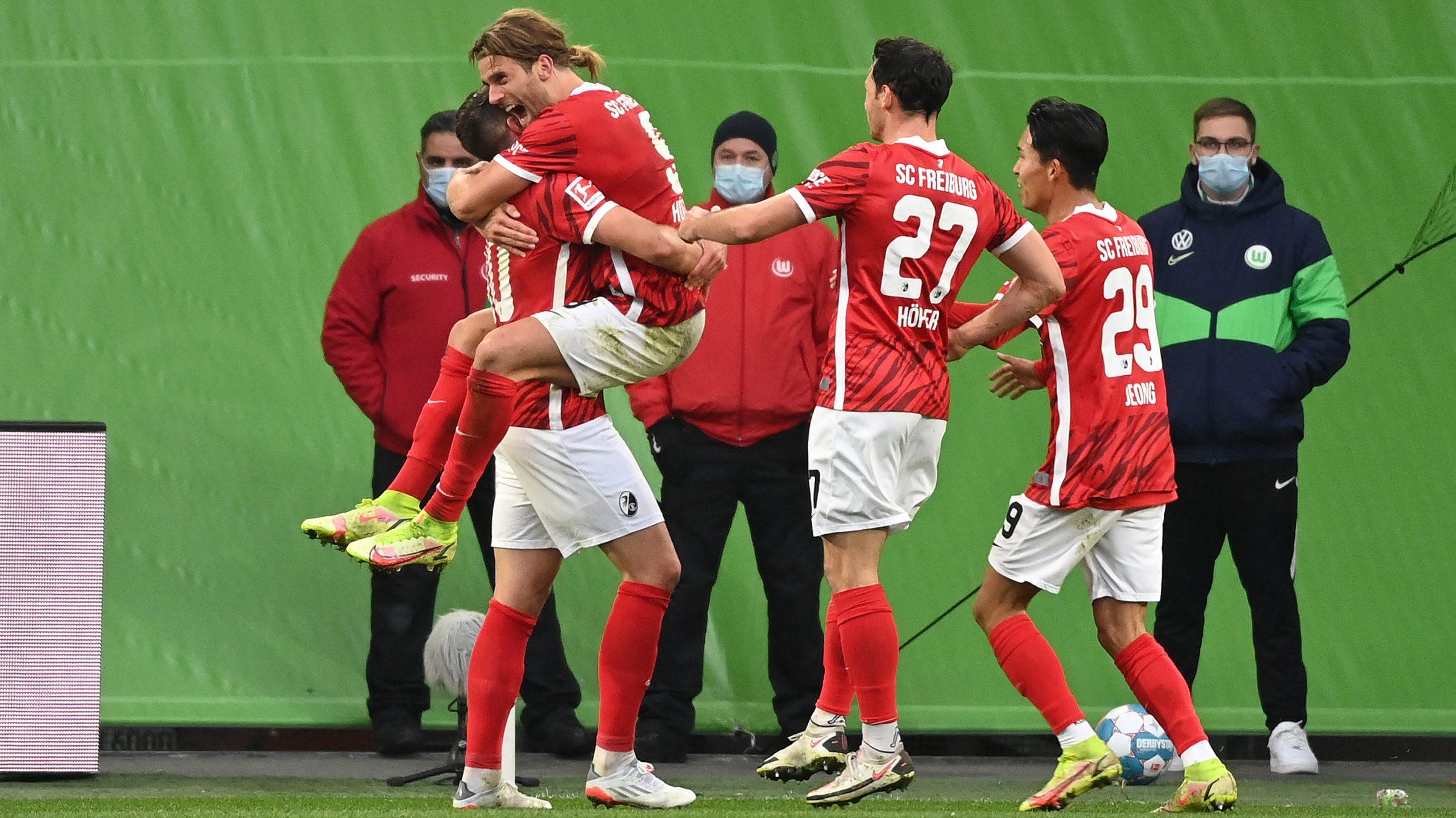 SC Freiburg: Ungeschlagen auf der Erfolgswelle