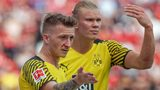 How will Dortmund line up without Erling Haaland?