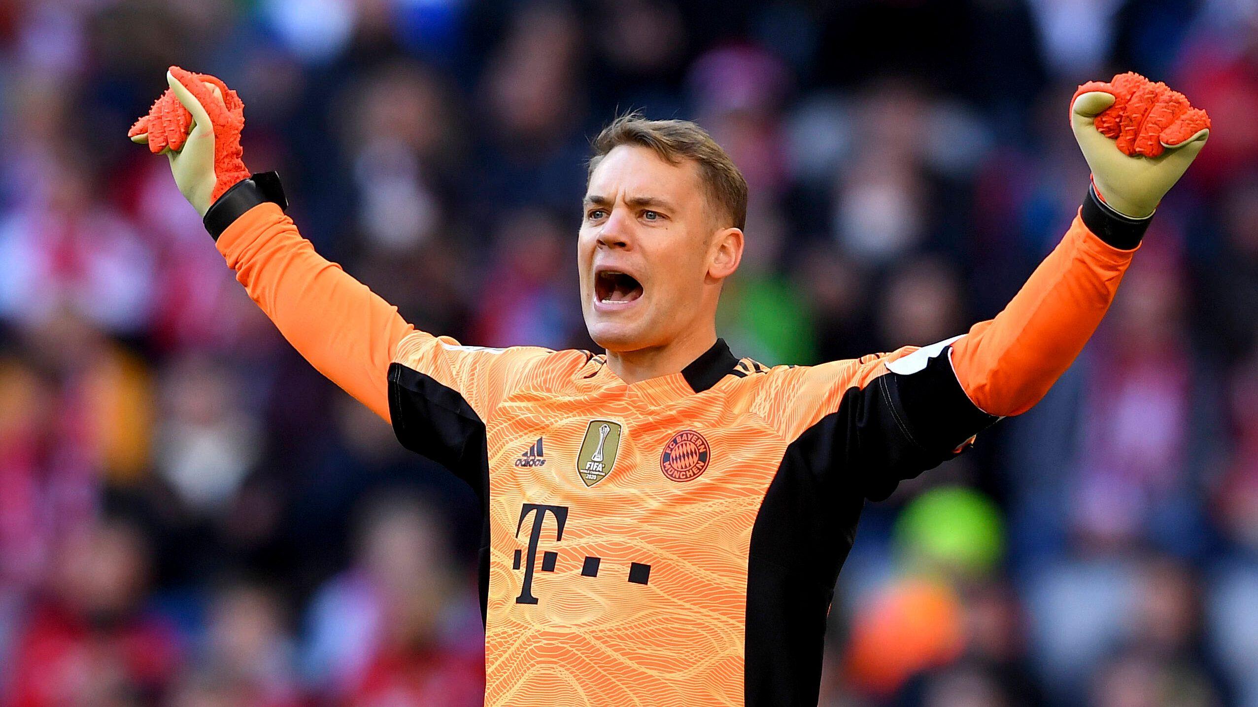 Manuel Neuer feiert 300. Bundesliga-Sieg