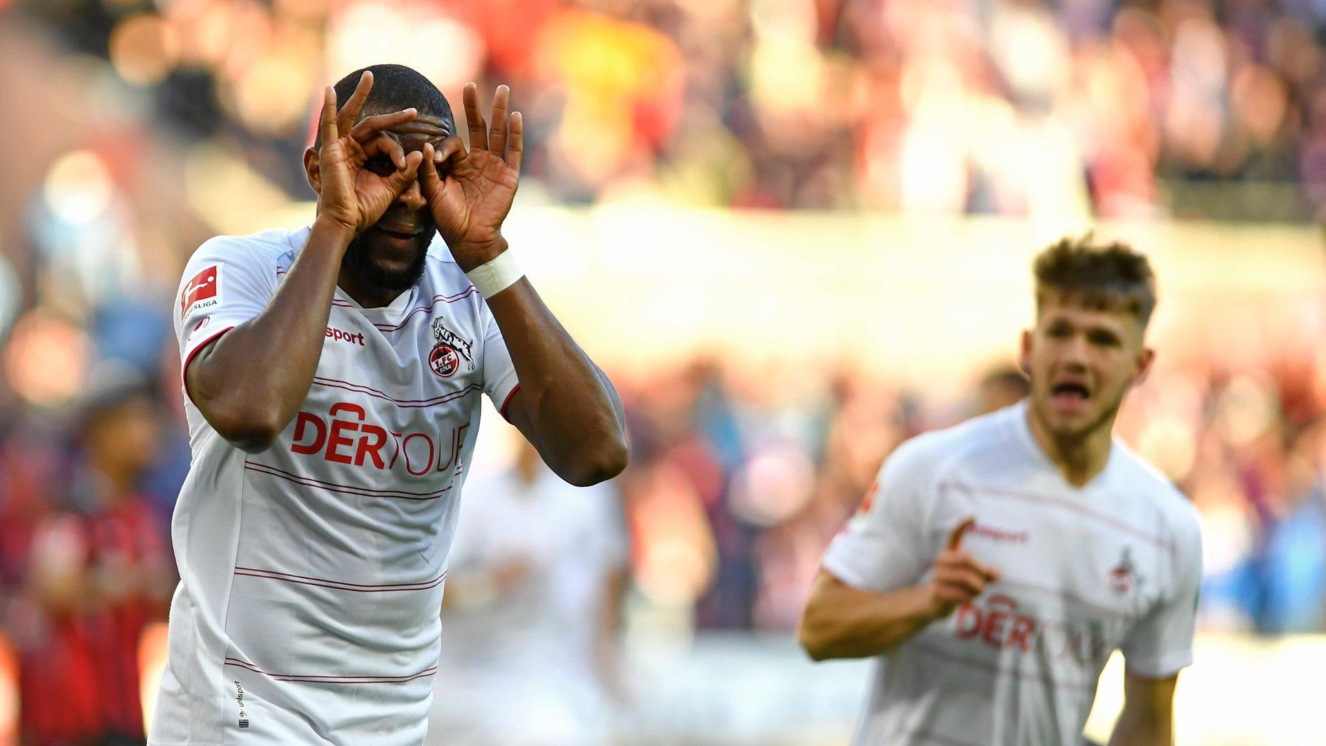 Modeste milestone as Cologne hold Leverkusen