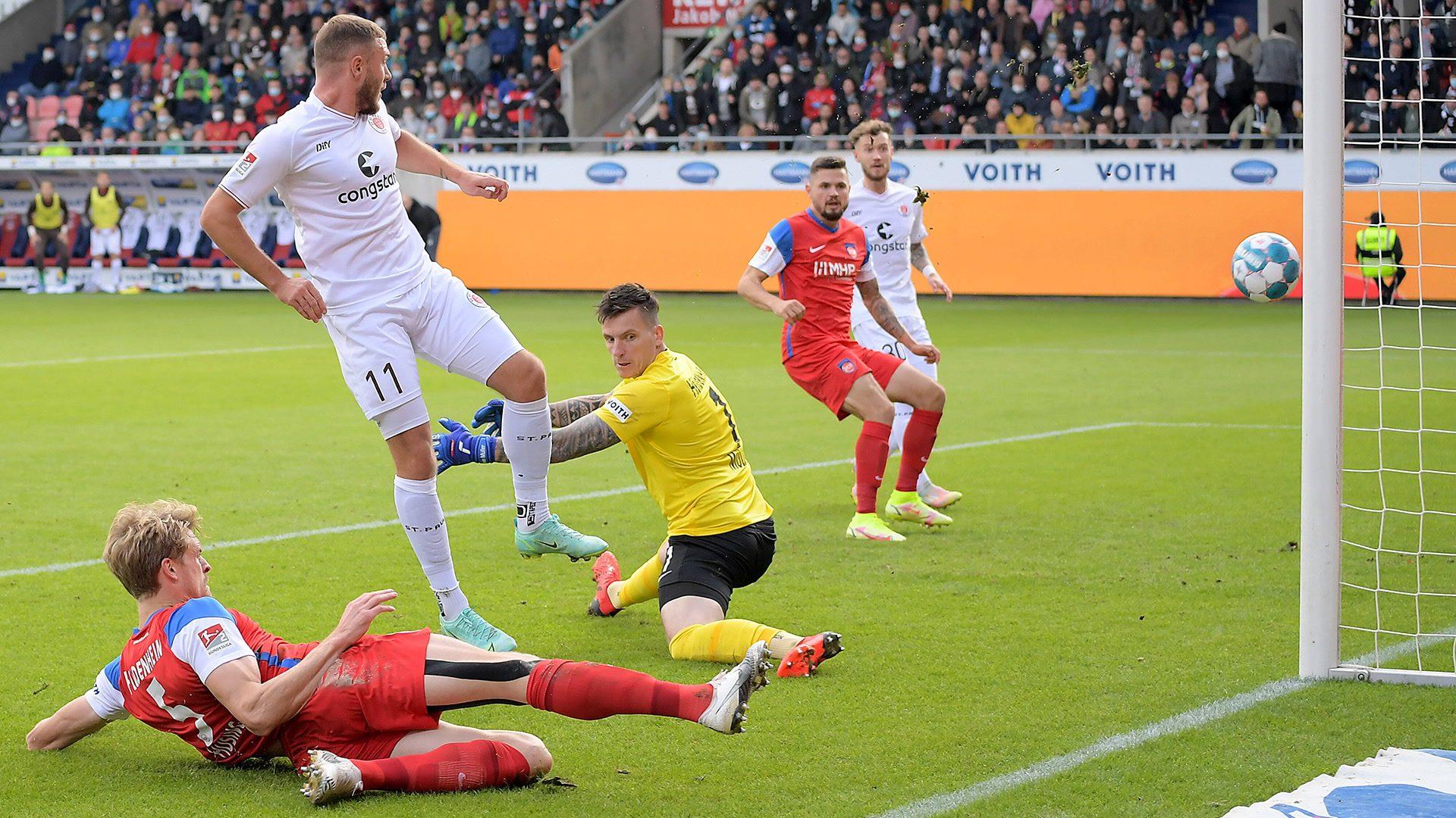 St. Pauli dreht auf und gewinnt 4:2 in Heidenheim